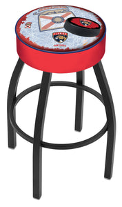 "Holland Bar Stool,NHL,Bar Stool,L8B1,25"",Florida Panthers,Logo Series"