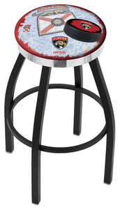 "Holland Bar Stool,NHL,Bar Stool,L8B2C,36"",Florida Panthers,Logo Series"