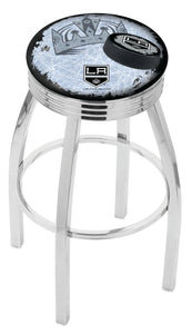 "Holland Bar Stool,NHL,Bar Stool,L8C3C,30"",Los Angeles Kings,Logo Series"