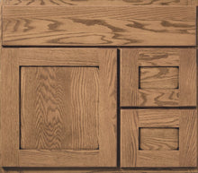 "Load image into Gallery viewer, Bertch Bath 30"" VR30T Osage Reverse Drawer Vanity in Hickory Driftwood"