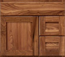 "Load image into Gallery viewer, Bertch Bath 30"" VR30T Osage Reverse Drawer Vanity in Walnut"