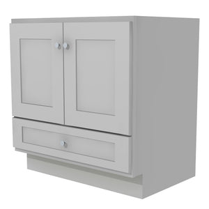 "Bertch Bath 36"" VR36T Osage Reverse Drawer Vanity in Lighthouse"