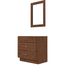 "Load image into Gallery viewer, Bertch Bath 36"" VSD36T Osage 2 Drawer Dresser Vanity in Mocha"