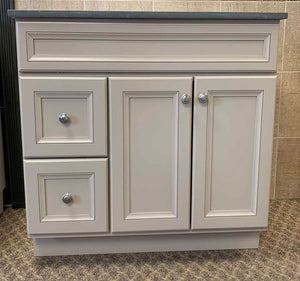 "Bertch 42"" Marcus 2 Drawer Vanity in Morel"