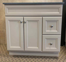 "Load image into Gallery viewer, Bertch 42"" Marcus 2 Drawer Vanity in Morel"