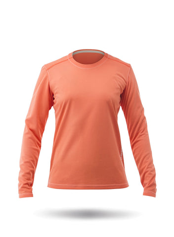 Womens Zhikdry LT Long Sleeve Top - Rose