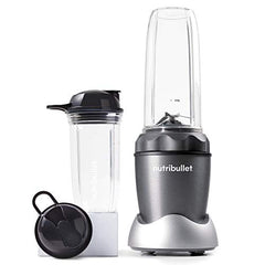 NutriBullet NB50100C Pro 1000 Single Serve Blender (1000W) 7-Piece Set, Dark Gray/Light Gray Skirt - Birdly Canada