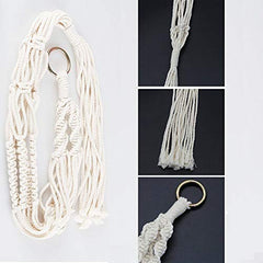 Plant Hanger Rope, Sweeethome 2 Pack Macrame Plant Hanger Brackets - Birdly Canada
