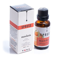 SPRUSE Mandarin Essential Oil - 30ml - 100% Natural Undiluted Therapeutic Grade - Birdly Canada