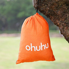 Ohuhu Portable Nylon Fabric Travel Camping Hammock - Birdly Canada