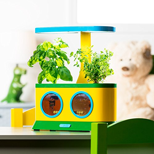 AeroGarden Herbie Kid's Garden with Pizza Party Activity Seed Pod Kit - Birdly Canada