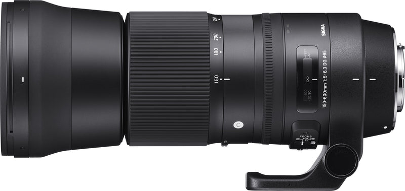 Sigma 745101 150-600mm f/5.0-6.3 for Canon EF Cameras 150-600mm Medium-Telephoto-Lens Fixed Zoom - Birdly Canada