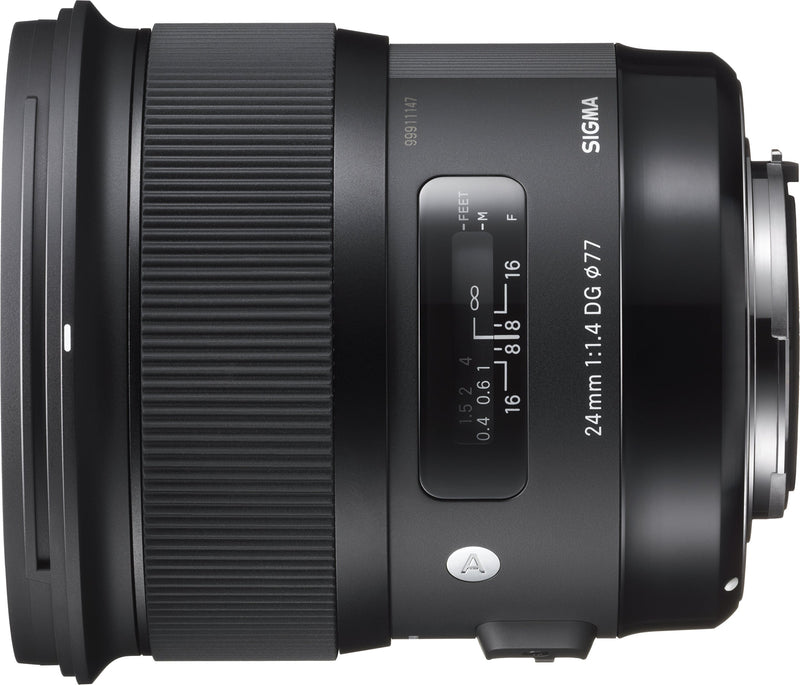 Sigma 401101 for Canon EF Cameras 24mm f/1.4 Wide-Angle-Prime Lens Fixed Prime - Birdly Canada