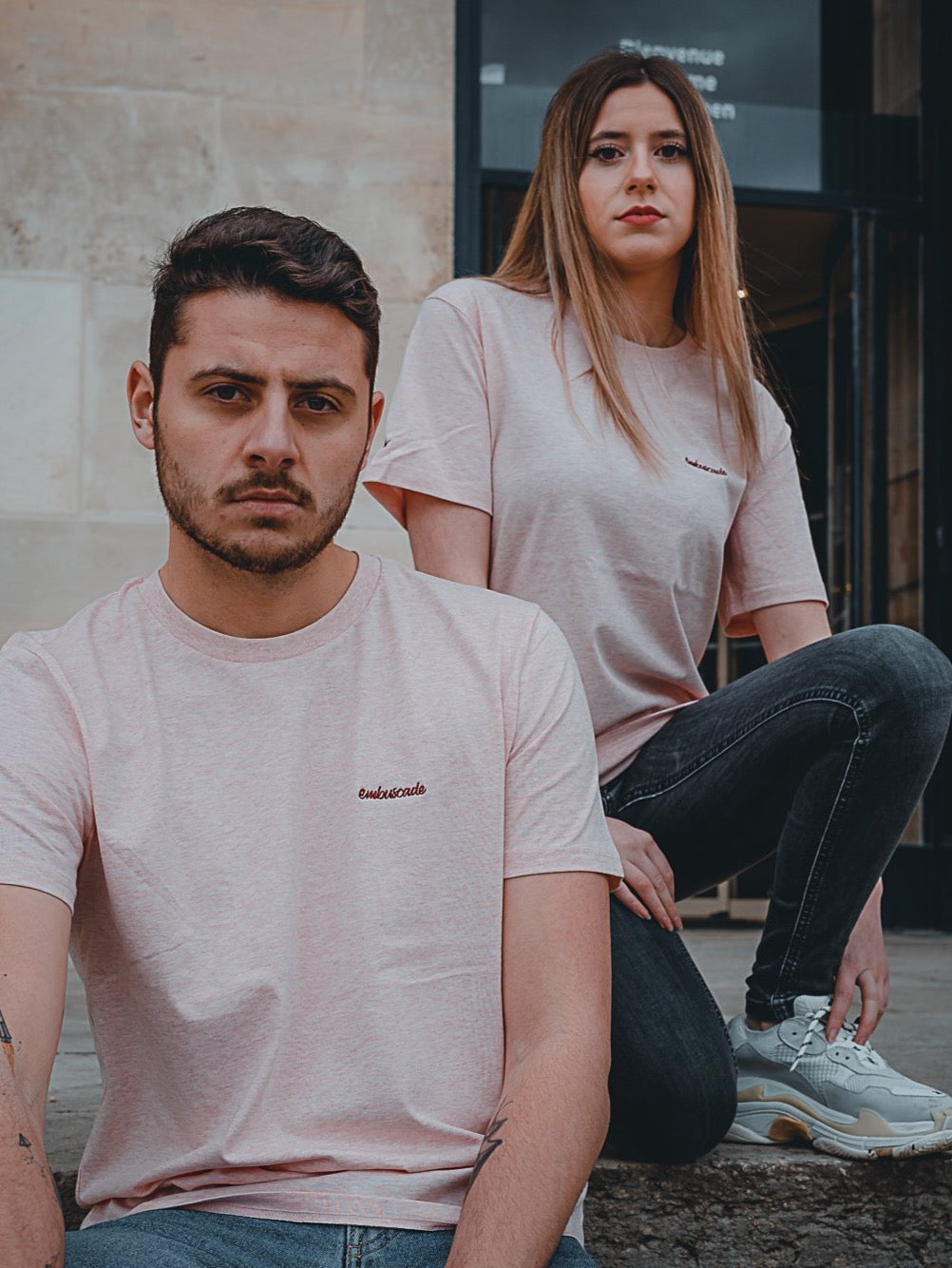 T-shirt Le Devonport Rose