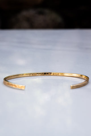 The Change Open Bracelet