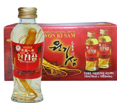 Ginsen drink 10 pcs| 원기삼