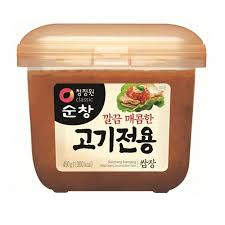 Mixed soy bean paste for meat 450g| Míchaná pasta na maso 450g| 순창고기전용쌈장