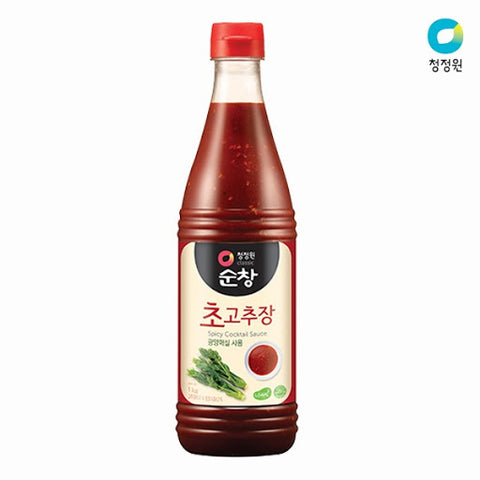 Hot pepper bean paste added vinegar|순창초고추장
