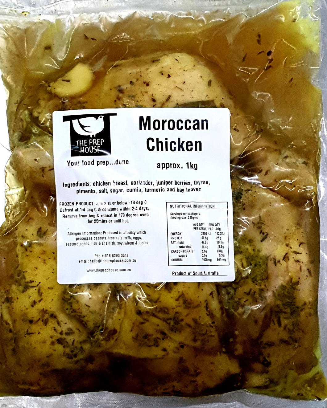 Moroccan Chicken (4 pieces)