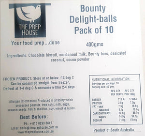 Bounty Delight-ball - Box of 10