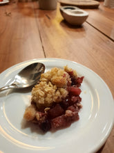 Load image into Gallery viewer, Mixed Berry & Apple Crumble serves 6