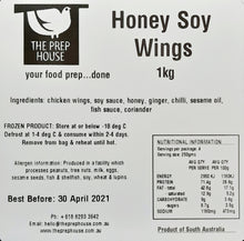 Load image into Gallery viewer, Honey Soy Chicken Wings