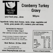 Load image into Gallery viewer, Cranberry Turkey Gravy 500gms
