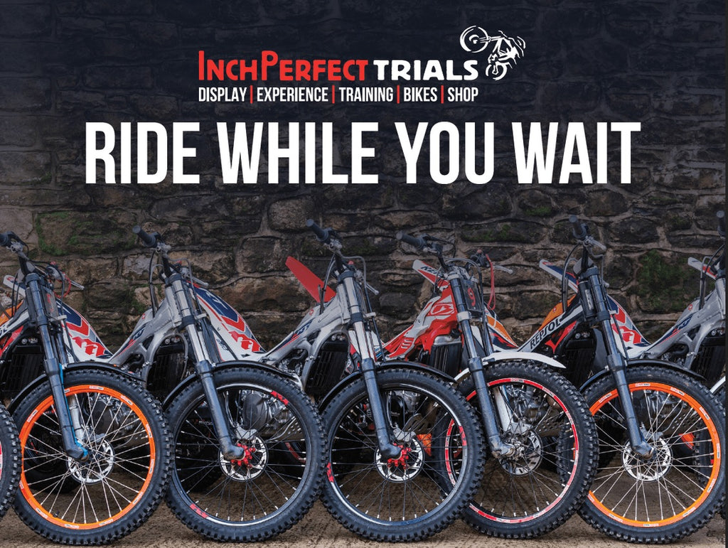 Ride while you wait!