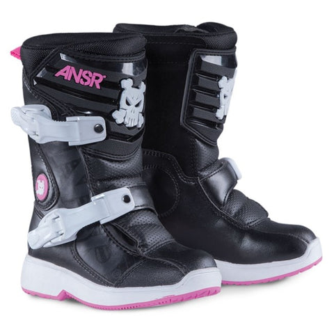 Answer Peewee Kids Boots (Pink) - Sizes 30 & 31 only