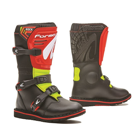 Forma Rock Kids Boot (Red/Yellow)