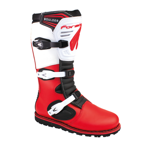 Forma Boulder Boots (White/Red)