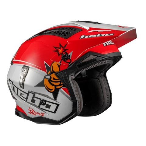 Hebo Zone 4 Toni Bou Helmet (Red)