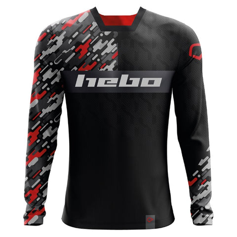Hebo Pro Camo Shirt (Red) - Size L
