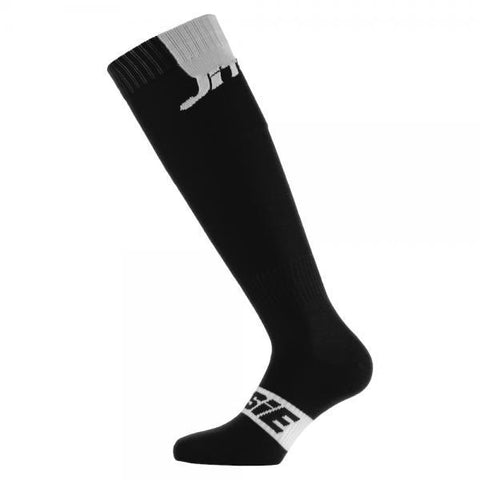 Jitsie Solid Socks - Long (Black)