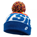 Jitsie Throwback Bobble Hat (Blue/White)