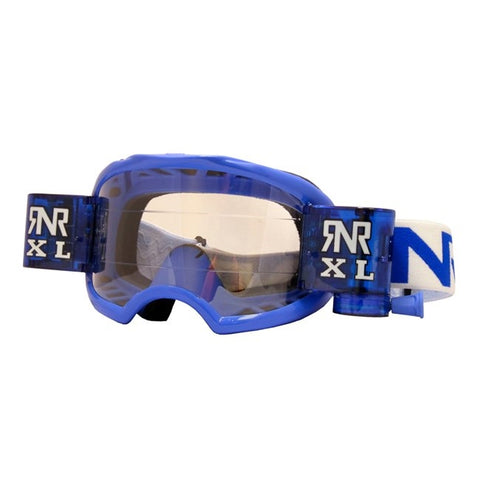 RNR Colossus Roll Off Goggles (Blue)
