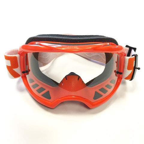 RNR Colossus Tear Off Goggles (Orange)