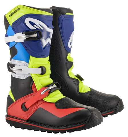 Alpinestars Tech T Boots (Blue/Red)