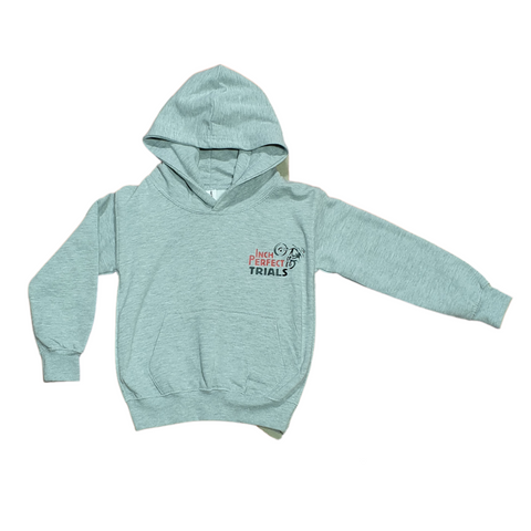 Inch Perfect Kids Hoodie (Grey)