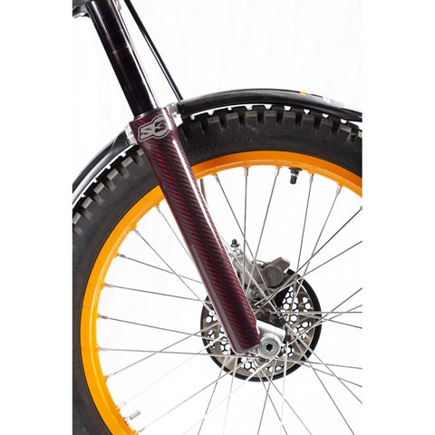 S3 Carbon Fork Protector Tech/Showa (Red)