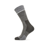 Sealskinz Solo Quickdry Mid Length Socks (Grey)
