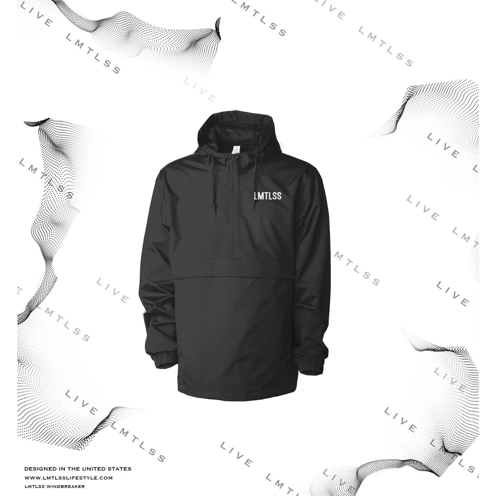 Signature Windbreaker Rain Jacket