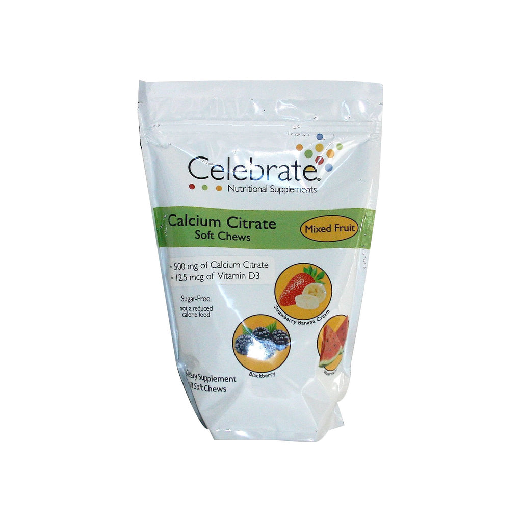 Calcium Soft Chew 500 mg - Variety Pack