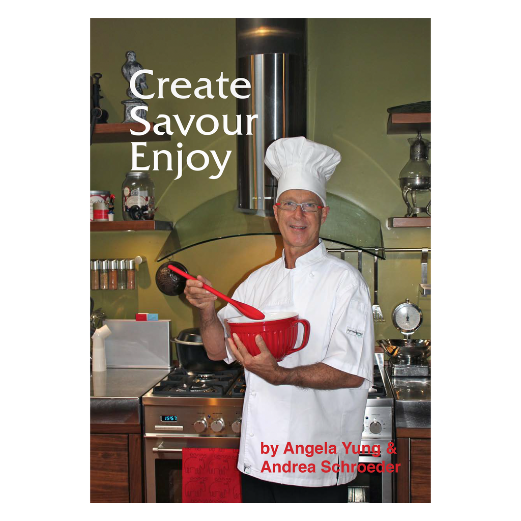 Recipe Book Create Savour Enjoy