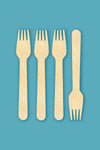"Birchwood 6.5"" Forks - Pack of 3000"