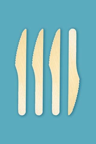 "Birchwood 6.5"" Knives - Pack of 3000"