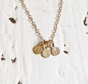 Baby Disc Necklace