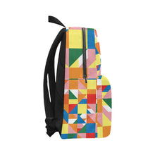 Load image into Gallery viewer, Wakerlook Triangle Abstract All-Over Print Unisex Nylon Backpacks