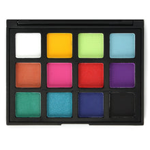 Load image into Gallery viewer, Evanese Professional Beauty Makeup 12 Color High Pigment Eyeshadow Palette Pink