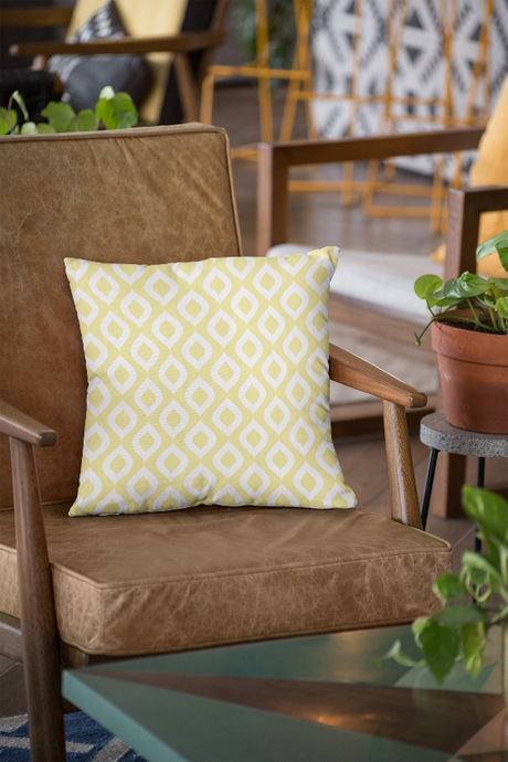 Yellow Autumn Cushion Cover